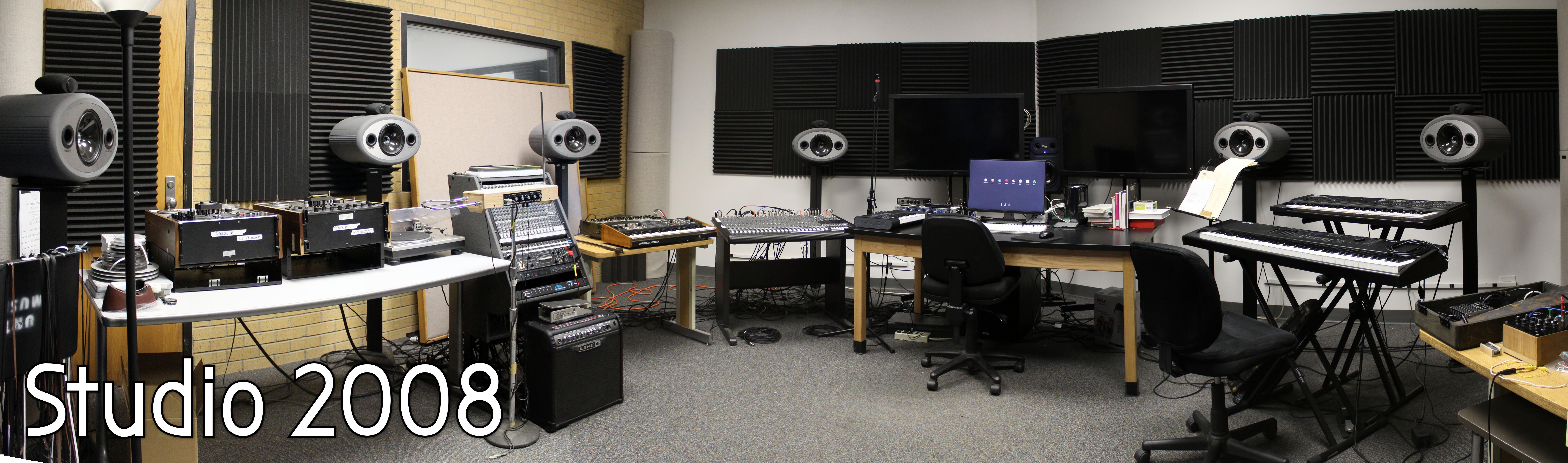 Panoramic Image of Studio 2008