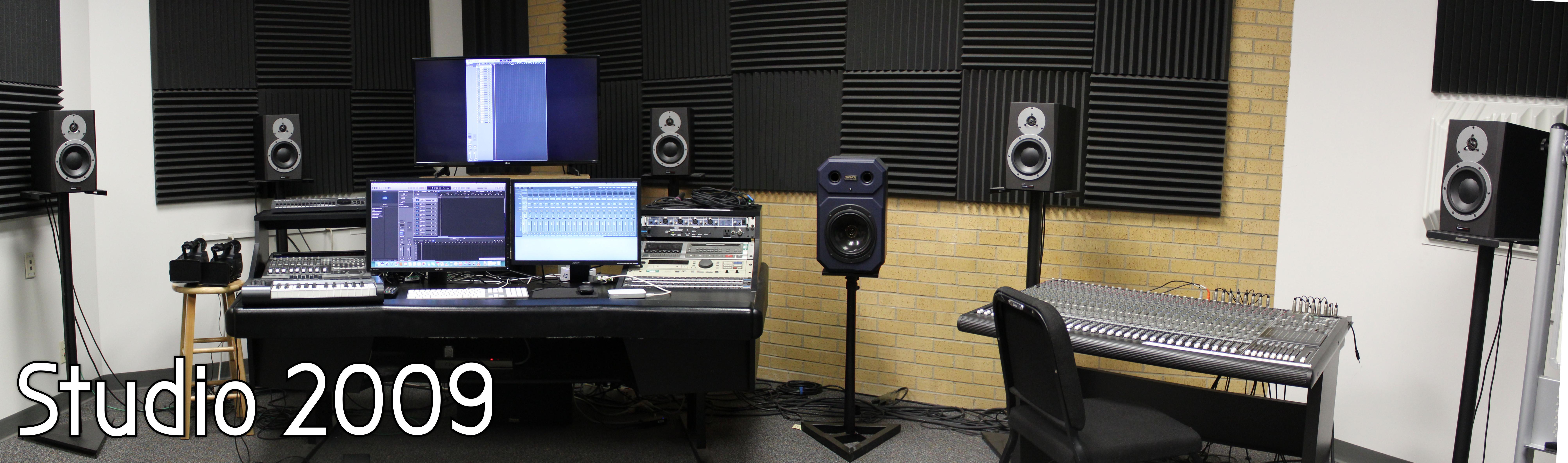 Panoramic Image of Studio 2009