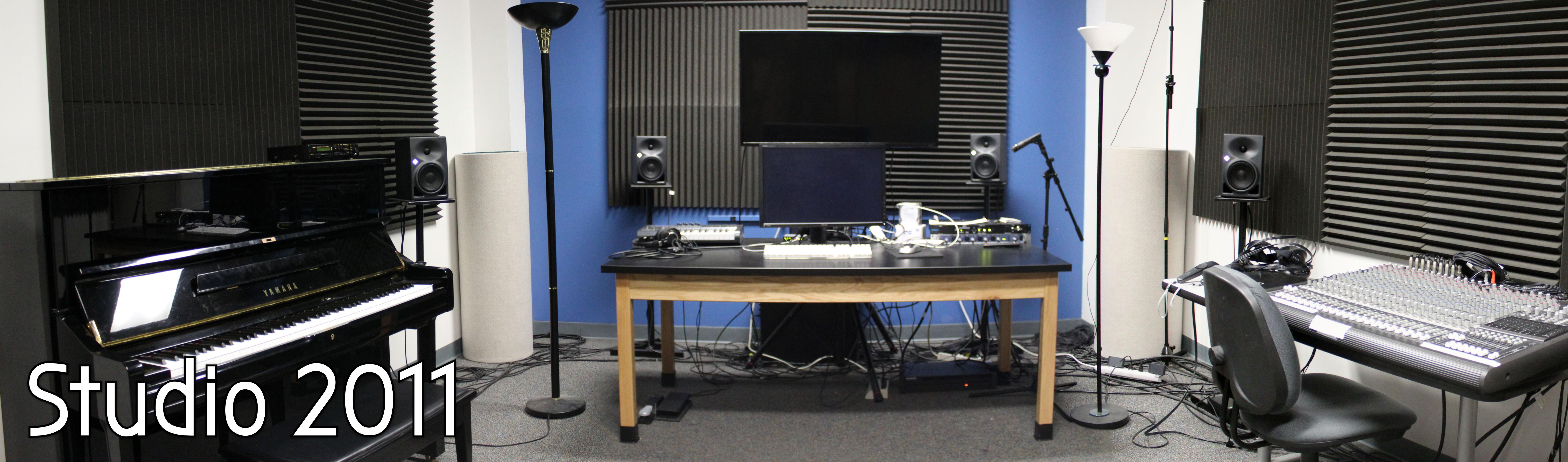 Panoramic Image of Studio 2011
