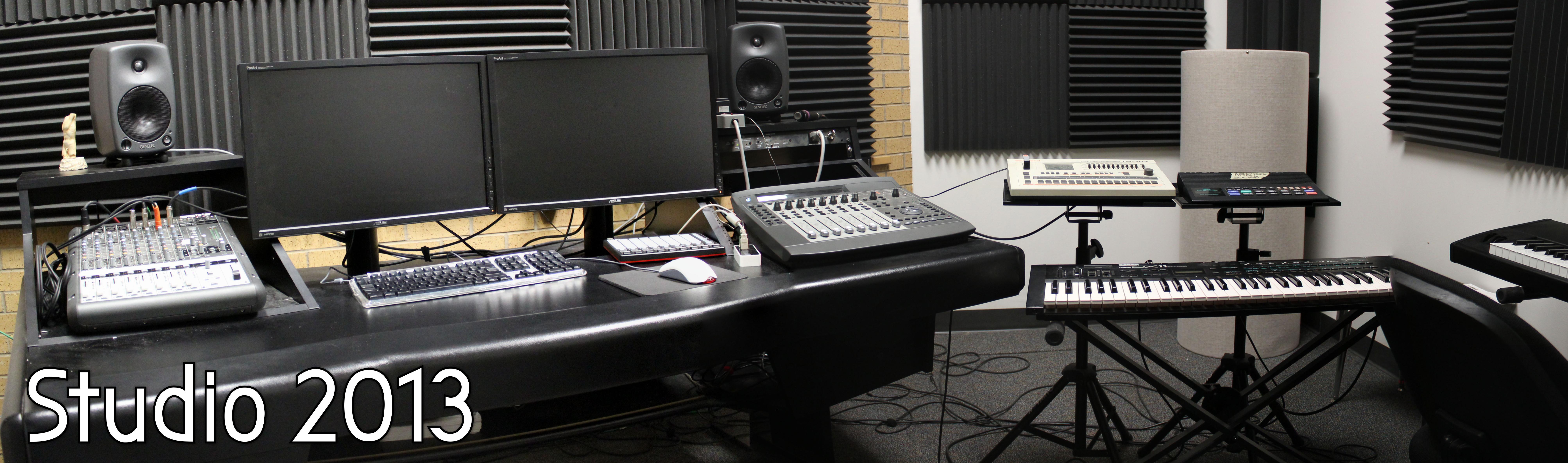 Panoramic Image of Studio 2013