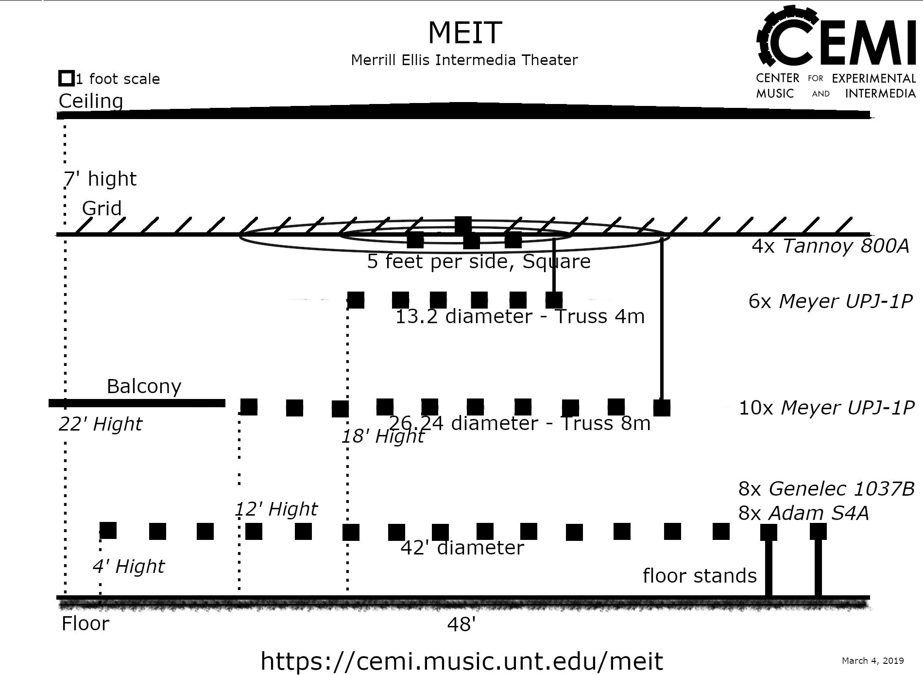 MEIT Audio Speaker Diagram